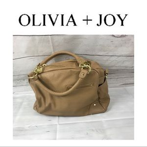 Olivia + Joy Tan Handbag